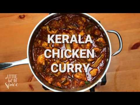 Kerala Style Chicken Curry - without coconut (Nadan kozhi curry)