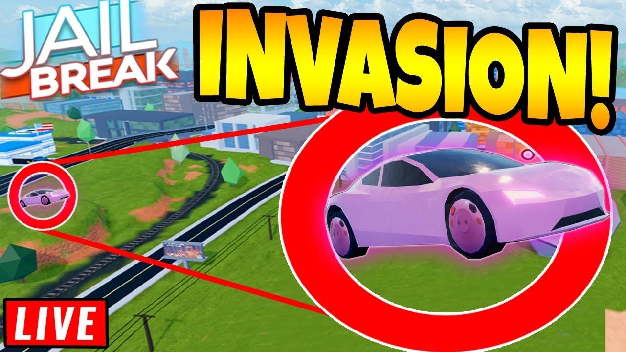 JAILBREAK x PIGGY INVASION COMING SOON! ROBLOX - YouTube