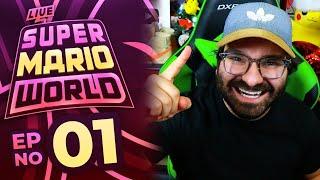 Super Mario World LIVE Part 01