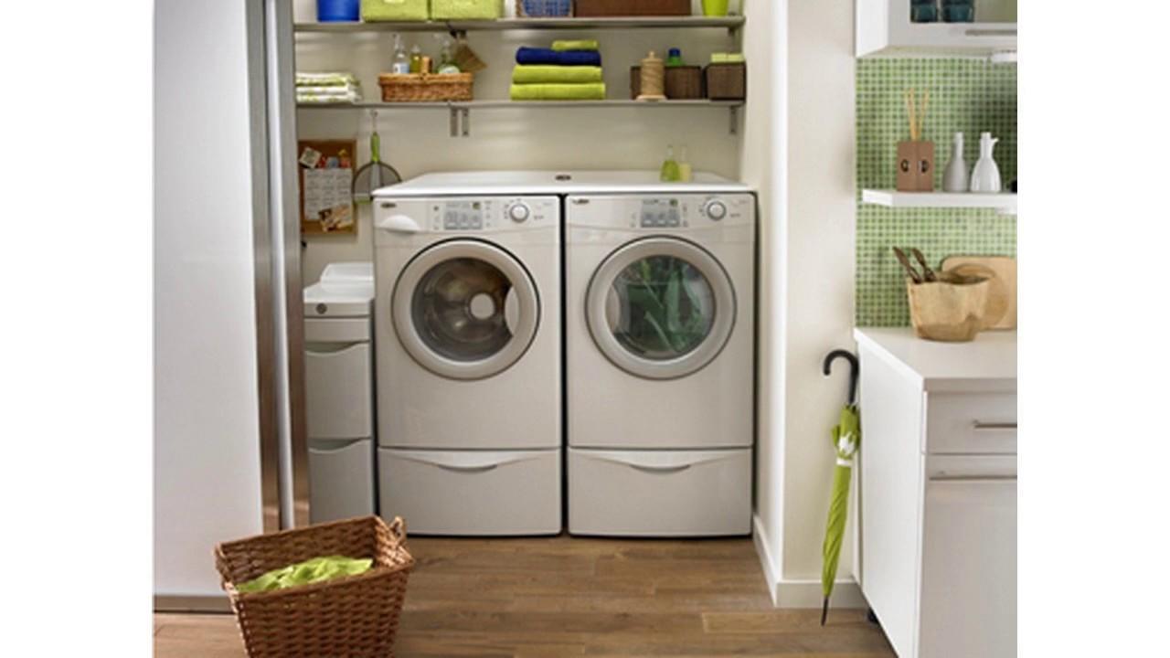 ideas de decoraci n de la sala de lavander a youtube On decoracion de lavanderia