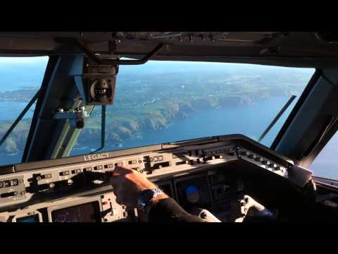 K2 Smartjets SX CDK Landing in Guernsey