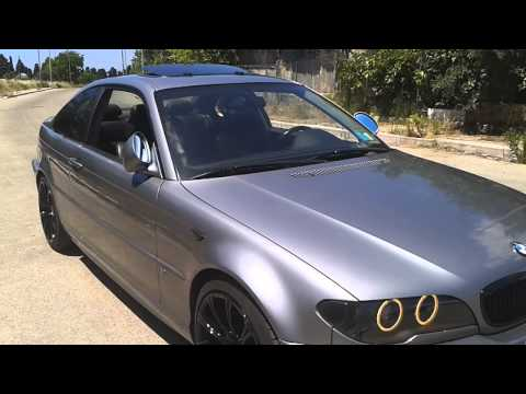 bmw e46 coupe m paket youtube. Black Bedroom Furniture Sets. Home Design Ideas