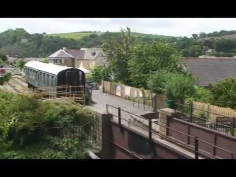 Bideford Train Station and the Tarka Trail