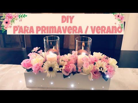 DIY PARA PRIMAVERA// CENTRÓ DE MESA // DECORACIÓN