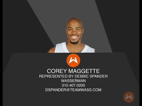 Corey Maggette College Basketball Reel March 2018