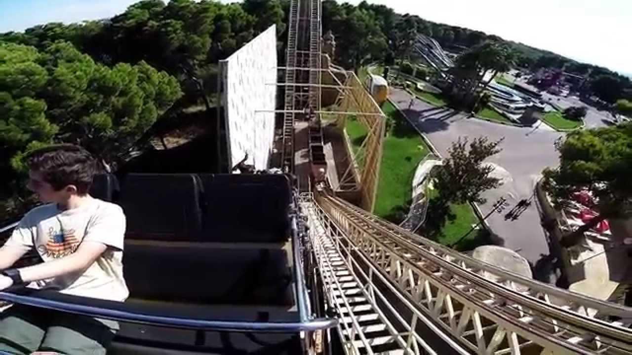 Ramses parque de atracciones de zaragoza on ride youtube - Parque atracciones zaragoza ...