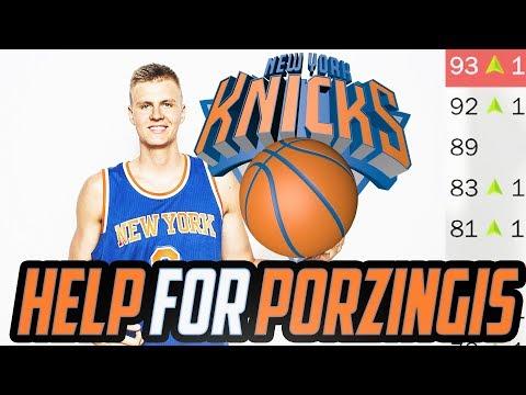 PORZINGOD GETS HELP! New York Knicks Rebuild! NBA 2K18
