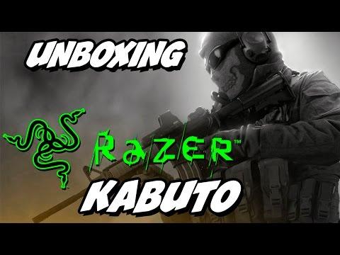 Razer Kabuto Box Unboxing Razer Kabuto e Teste