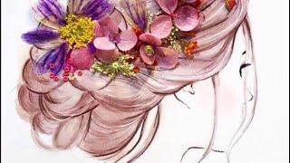 Легкая прическа на выпускной, свадебная прическа своими руками. Подружка невесты(Пару минут и лёгкая и необычная причёска на свадьбу готова! Подписывайтесь, ставьте лайки, пишите в коммент..., 2016-03-01T22:03:45.000Z)