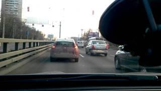 Пробка на Ленинградке у Макдака