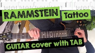 🎸 RAMMSTEIN - Tattoo (FPV/POV GUITAR COVER with TAB)