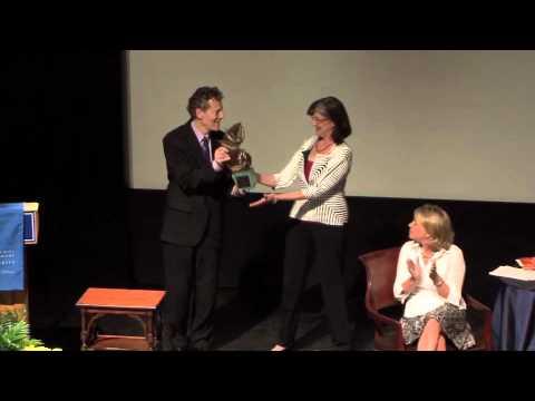 Barbara Kingsolver Receives Duke LEAF Award