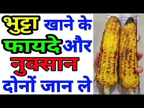 भुट्टा खाने के फायदे और नुक्सान   Bhutta Khane Ke Fayede Or Nuksaan Hindi   Benefits Of Corn   Makai