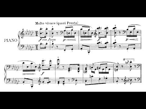 Emil von Sauer - Galop de concert (audio + sheet music)