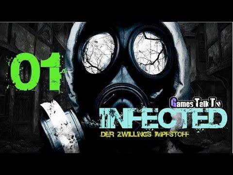 Let´s Play Infected - Der Zwillings Impfstoff #004 [HD] - Der Maskenmann lernt die Armbrust kennen