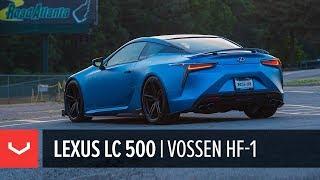 Lexus LC 500 | #LCUL8TR Update | Vossen Hybrid Forged HF-1 Wheels