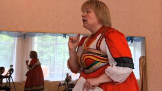 Урок русской культуры с детьми