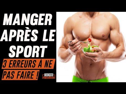 Quoi Manger Après Le Sport : 3 Erreurs Que Tu Fais Peut être