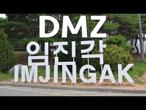 Brief Tour of DMZ at  Imjingak