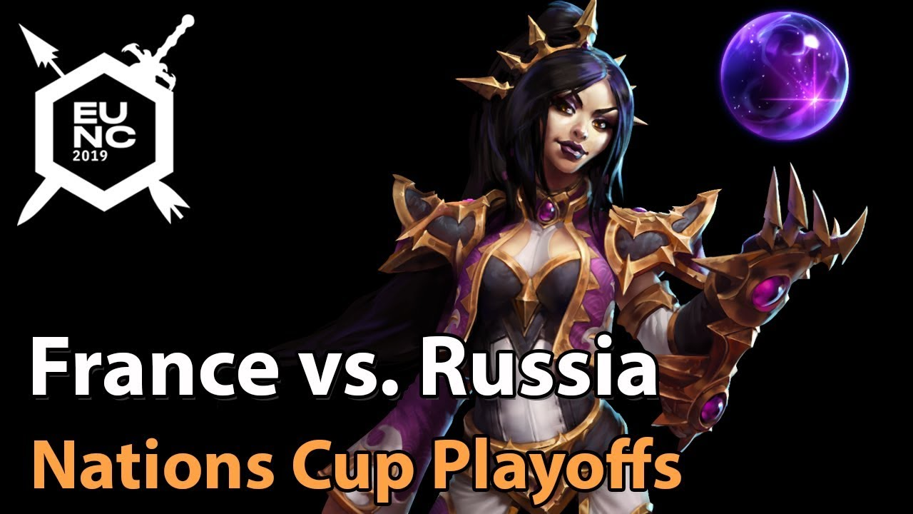 ► France vs. Russia - Nations Cup Playoffs - Heroes of the Storm Esports