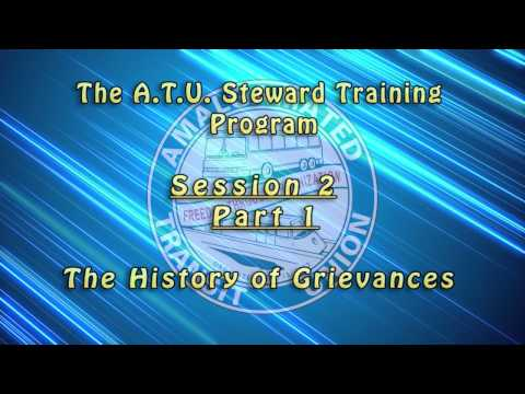 Introductory Shop Stewards Videos - Session 2 / Part 1