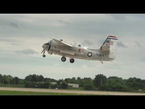 1955 Grumman C-1A Trader Departs EAA Airventure 2016