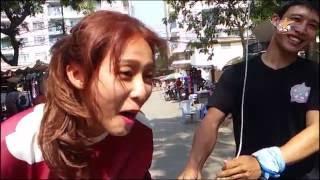 """[HẬU TRƯỜNG PHIM] : diễn viên Khả Ngân trong phim """"CAO THỦ ẨN DANH"""""""