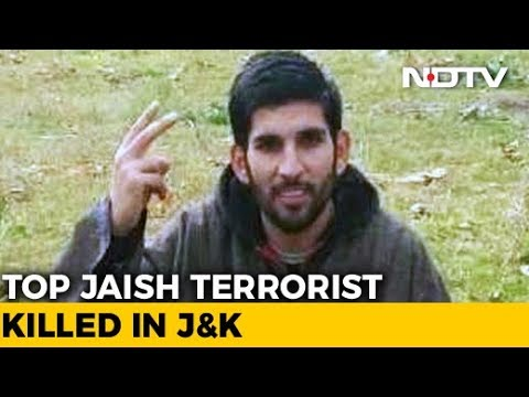 Jaish Terrorist, Said To Be Srinagar Attack Mastermind, Killed In Kashmir