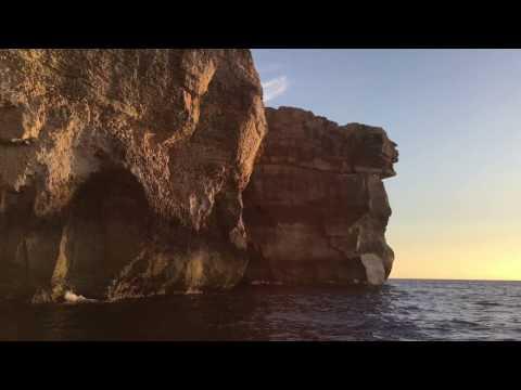 Malta Azure Window - Gozo 7 March 2017