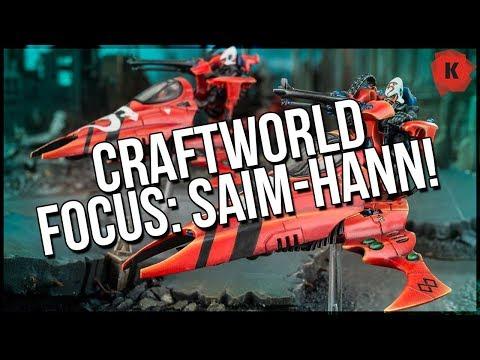 Craftworld Focus: Saim-Hann - I Really Like This One!