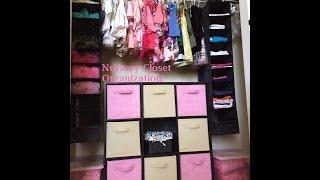 Vlogmas 4, 2013 - Nursery Closet Organization