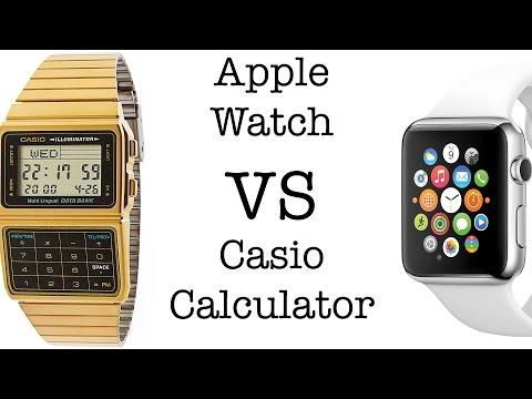 Apple Watch VS Calculator Watch