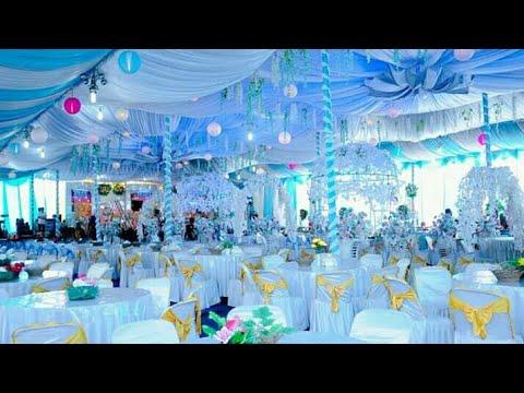 dekorasi tenda teratak pernikahan 2020 - di rumah seperti