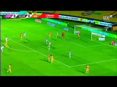 Gol de L. Rodríguez   Tigres 1 - 0 Querétaro   Liga MX - Guardianes 2020 - Jornada 11   LIGA BBVA MX