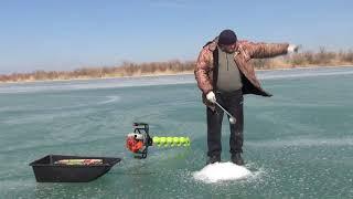 Моя первая подлёдная рыбалка