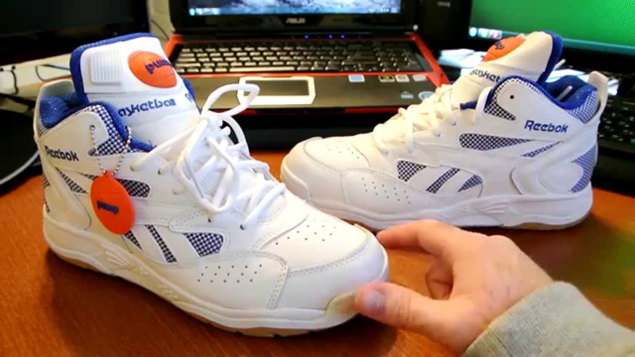d1e50b5a441572 Reebok D-Time White And Royal - YouTube