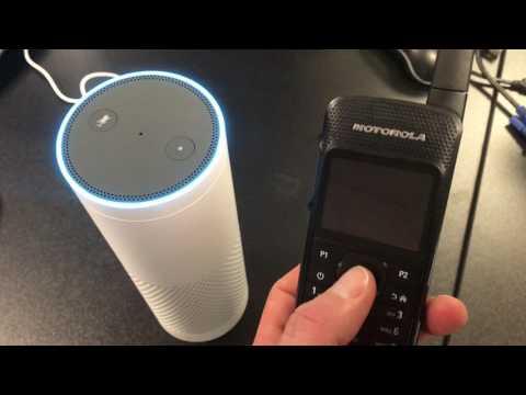Amazon Echo to Motorola DMR Radio