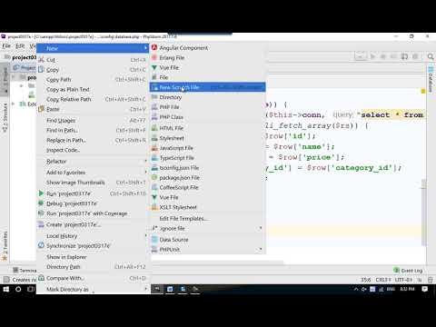 Hiển thị dữ liệu từ database ra màn hình - Project 1