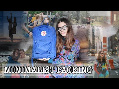 Two months in America with a 20L Känken Backpack   What's in my travel bag?   Minimalist Packing