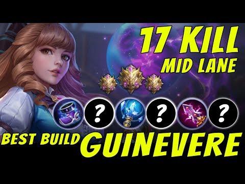 BEST Build Guinevere Legendary KILL - Mobile Legends Indonesia