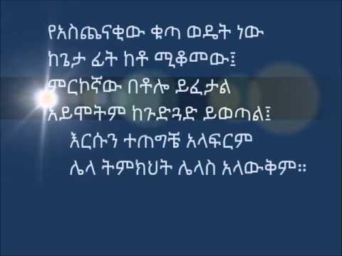 Moviemaker Mezmur Zim Biye DZKHC