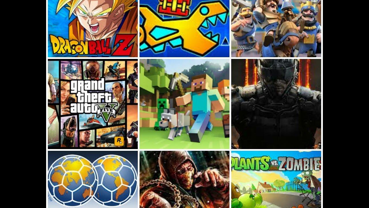 Top 10 Juegos Famosos Antes Y En 2017 Droiidtops Youtube