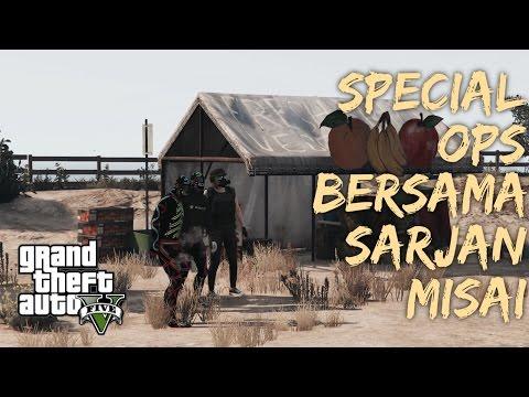 Special Ops Bersama Sarjan Misai - GTA 5 Online (Bahasa Malaysia)