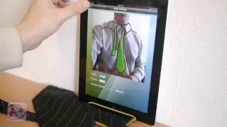 How to Tie a Tie with your mobile device