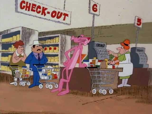 The Pink Panther Show Episode 124 - Supermarket Pink