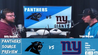 Carolina Panthers vs New York Giants Week 5 Preview- LIVE