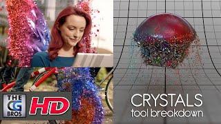 "CGI & VFX Breakdowns : ""Sky Crystals Tool v02 Breakdown"" - by Giulio Tonini"