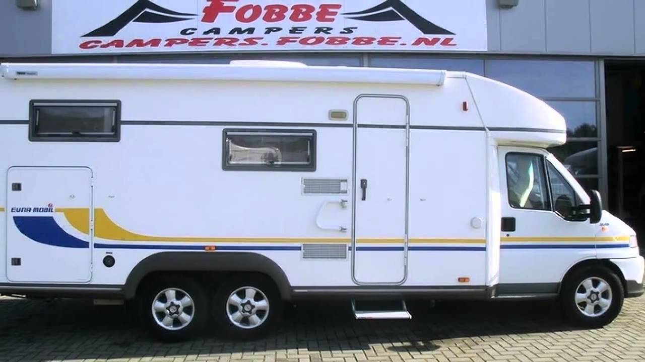 kampeerauto te koop eura mobil contura 742 eb youtube. Black Bedroom Furniture Sets. Home Design Ideas