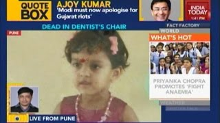 3-Yr-Old Dies After Anesthesia Overdose From Dentist