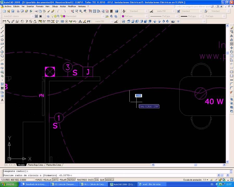 Video 10 planos el ctricos iluminaci n cableado youtube - Como hacer un plano de una casa ...